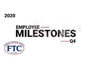 Employee Milestones Q4 2020